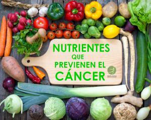 nutrientes para prevenir cáncer